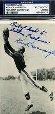 Ken Kavanaugh Signed Psa/dna Bears Pc Autograph Authentic