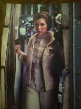 Carrie Fisher Empire Strikes Back post-card Large Princess Lea 1980 Star Wars