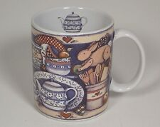 1998 Lang and Wise Mug Cup Close To My Heart by Susan Winget Teapot Kitchen Pie