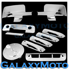 Dodge Ram Chrome Mirror+Light+4 Door Handle+Tailgate+Camera+Gas+3rd Brake Cover
