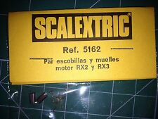 SCALEXTRIC  PAR ESCOBILLAS Y MUELLES MOTOR RX2 YRX3 VER FOTO (5162)