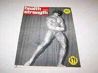 1976 #3 HEALTH & STRENGTH body building magazine