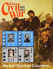 Variant Counters Expansion Set The Civil War Victory Games, 220+ Ctrs, 80+ Pages