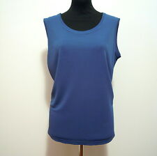 LUISA SPAGNOLI Women Vest Top Viscose Woman Rayon Tank Top Sz. M - 44
