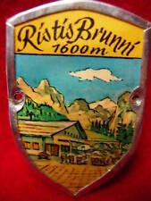 Ristis Brunni hiking medallion stocknagel G1809