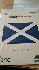Scotland Flag Reversible  sticker G401.