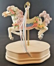 Classic Treasures Musical Carousel Horse
