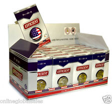 20 Packs  EFFICIENT Cigarette Filters (600 Filters) Block & Filter Out Tar & Nic