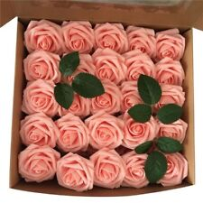 50Pcs / Box Artificial Rose Flowers Diy Bouquets Decoration Valentine's Day Gift