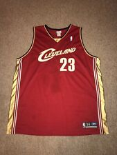 Authentic Lebron James Cleveland Cavaliers Reebok Jersey Size 56