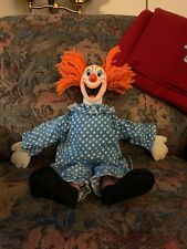 1963 Bozo The Clown Pull String Talker By Mattel Restored To Talk And Cleaned