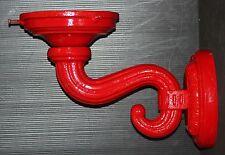 GLOBE HOLDER wall flange lamp bracket gas pump wall sconce garage light sign S