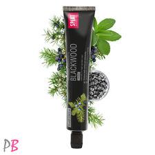 SPLAT BLACKWOOD Whitening Dentifricio con Fluoruro di carbone 75 ML-Free