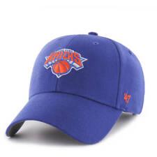 NEW YORK KNICKS 47 BRAND ADULT BLUE MVP HAT NEW & OFFICIALLY LICENSED
