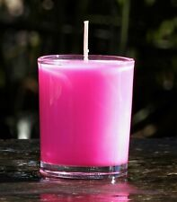 40hr LOVE SPELL Perfumed Womens Scented SOY WAX Glass Jar Candle GIFT WRAPPED