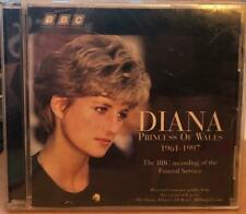 Diana Princess of Wales BBC recording of funeral service