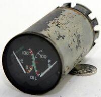 Dual oil temperature/pressure gauge