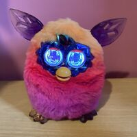 Furby Boom Crystal Edition - Pink Orange & Purple Interactive Talking Pet 2012