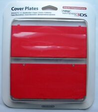 COVER PLATES NEW NINTENDO 3 DS ROSSO RED NUOVO