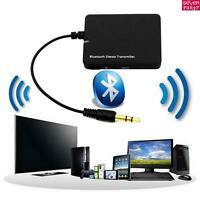 Bluetooth Audio Transmitter & Receiver dongle 3.5mm Music 2 in1 Adapter PC TV UK