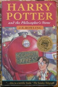 Harry Potter and the Philosopher's Stone by J K Rowling, 1997 - 1st Ed, 17th Imp