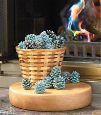RAINBOW FLAME COLORING PINE CONES HOME DECOR FOR FIRE PIT FIREPLACE CAMPFIRE