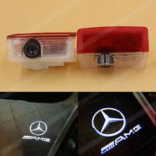 2x Car Door Courtesy Laser Ghost Shadow Projector LED Light for Mercedes Benz