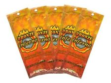 5 Packets of Bronze Inferno Hot Tingle Tanning Lotion by Ultimate