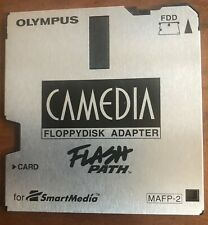 Olympus Camedia Flash Path Floppy Disk Adapter Mafp-2