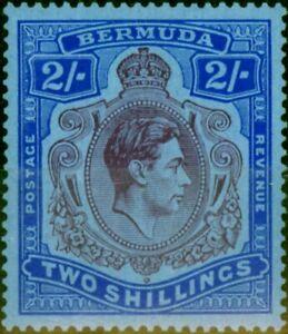 Bermuda 1938 2s Deep Reddish Purple & Ultramarine-Grey Blue SG116a Fine Very LMM