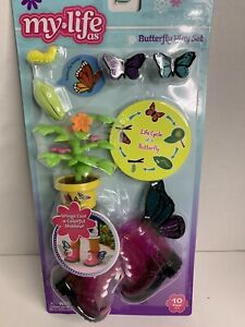 My Life as Butterfly Playset Boots,Plant 10pcs