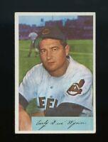 1954 Bowman BB Card #164 Early Wynn Cleveland Indians EX-EXMINT