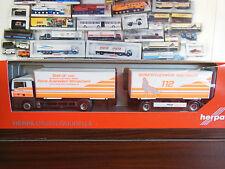 Herpa Fahrzeugmarke MAN Auto-& Verkehrsmodelle mit Einsatzfahrzeug