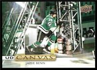 2019-20 Upper Deck UD Canvas #C65 Jamie Benn - Dallas Stars