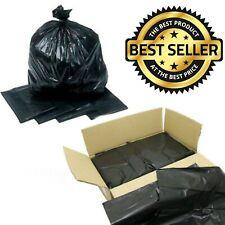 EXTRA STRONG MEDIUM & HEAVY DUTY Black Bin Bags Refuse Sacks Rubbish Liners