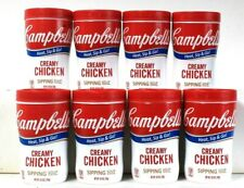 8 Count Campbell's 10.9 Oz Heat & Go Creamy Chicken Sipping Soup BB 4/27/2021
