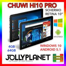 "Chuwi HI10 PRO 10"" Tablet PC Quad-Core Windows 10 + Android 5.1 Retina 4GB 64GB"