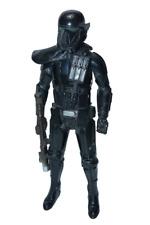 "Star Wars Black Imperial Stormtrooper 12"" Figure Force Awakens 2016 Light Sound"