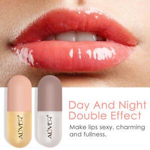 2pcs/set Lip Plumper Extreme Lip Gloss Plump Volume Bigger Lips Moisturizing