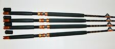 "Okiaya Composit 30-50Lb ""The Slayer"" Saltwater Big Game Roller Rod Set of 4"