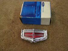 NOS 1974 1975 1976 Mercury Montego Header Panel Ornament Emblem Trim
