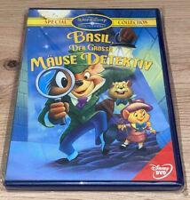 DVD Walt Disney Special Collection Basil Der Grosse Mäuse Detektiv