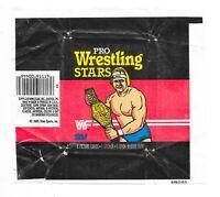 1985 TOPPS WWF Pro Wrestling Stars WRAPPER Trading CARD WWE WCW NWO Titan Sports