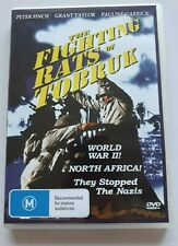The Fighting  Rats of Tobruk    - Peter Finch -  PAL DVD Region 4