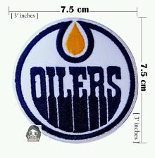Edmonton Oilers Hockey NHL Sport Logo  Embroidery iron-sewing-patch on fabric