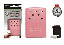 ZIPPO PINK HAND WARMER Kit - 6 HOUR -CAMPING, TRAVEL, EMERGENCY WINTER