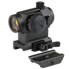 Tactical Reflex Red Dot Sight Airsoft Telescopic Scope QD 20mm Picatinny Mount