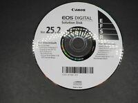 Canon EOS Digital Solution Disk Version 25.2 CD For Windows / Macintosh