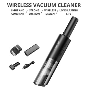 SmartX Handheld Car Vacuum Cleaner Portable 6000A Cordless Car Mini Vacuum