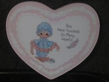 Precious Moments You Have Touched So Many Hearts Plaque